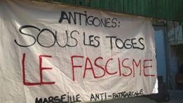 Marseille : Les fachos n'ont pas de public ! AntigoneS : sous les toges, le fascisme !