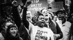 États-Unis : mobilisation contre le Ku-Klux-Klan à Stone Mountain (Géorgie)