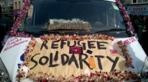 Le convoi solidaire pour les réfugié-es.