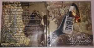 Le livret de l'album de Frontine.