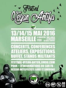 Marseille : Festival Vegan Antifa @ Marseille | Provence-Alpes-Côte d'Azur | France