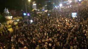 Macédoine : mobilisation contre les nationalistes au pouvoir