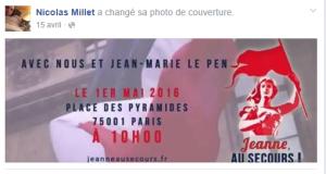 nicolas millet avec Jean Marie