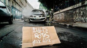 Paris : quatre personnes arrêtées dans l'affaire de la voiture brulée