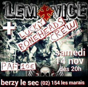 Lemovice à Berzy en novembre 2015