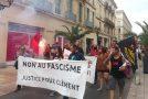 Nîmes : manifestation en hommage à Clément