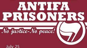 Toulouse : 2e journée internationale de solidarité avec les prisonniers.ères antifascistes