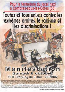 manif anti taverne de thor 8 octobre verdun