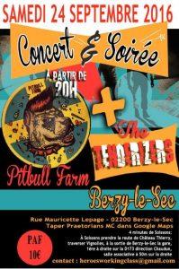 pitbullfarm concert Berzy 24 09 2016