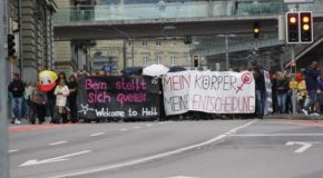 Berne : Communiqué de l'opposition à la manif anti-avortement