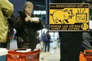 """La """"soupe au cochon"""" sera le véritable tremplin médiatique des Identitaires."""