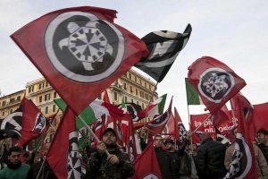 Casapound, sur lequel toute l'extrême droite française se tripote…