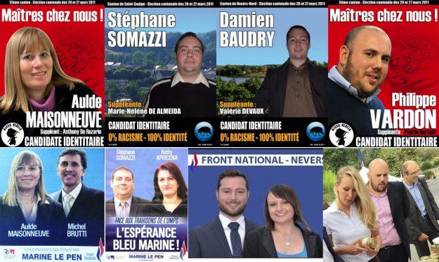 Après avoir tenté leur chance, les candidats identitaires sont gentiment rentrés dans le rang et ont rejoint le FN.