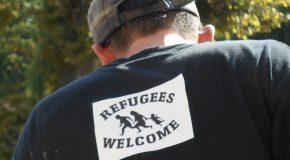 Allex Drôme : Rassemblement de soutien aux réfugié-e-s et contre une manifestation du Front National