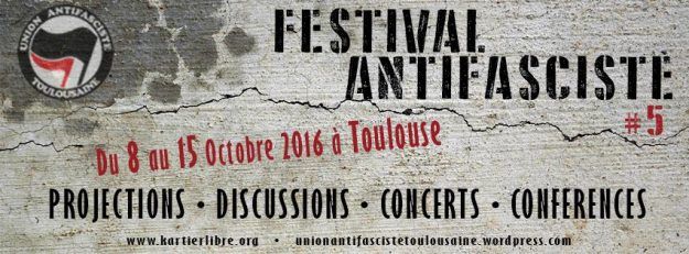 Toulouse : festival antifasciste #5