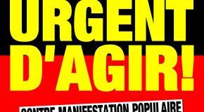 Annecy, Annemasse (74) : Contre rassemblements en solidarité avec les réfugiés