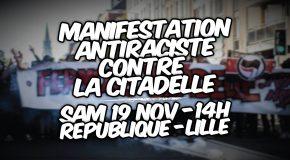 Lille : agression raciste et homophobe des néofascistes de La Citadelle