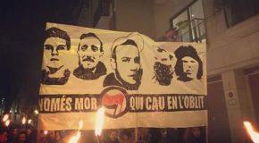 État espagnol: hommage à Carlos Palomino et à d'autres victimes du fascisme
