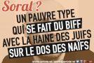 Grenoble : Soral n'est pas le bienvenu !