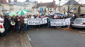 Bourges : Succès du contre rassemblement citoyen contre le FN