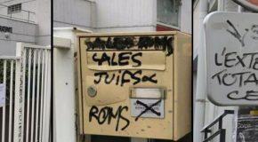 Montreuil : graffitis racistes et antisémites sur une école