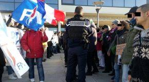 Challans 85 : Compte rendu de la contre-manif du samedi 3 Décembre 2016