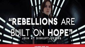 États-Unis : « Disrupt J20 », J-4 : galerie de visuels