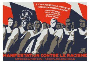 Saint-Etienne : Manifestation contre le racisme @ Saint-Étienne | Auvergne-Rhône-Alpes | France