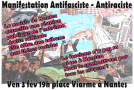 Nantes : Manifestation antifasciste et antiraciste