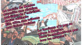 Nantes : Manifestation antifasciste et antiraciste