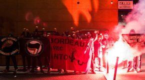 Bordeaux : soutien à Anto, victime de la répression pendant la lutte contre la loi travail