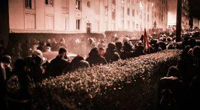 Nantes : photos de la manif antifa contre le meeting de Breizh infos
