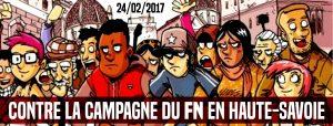 Neuvecelle (Haute Savoie) : Contre la campagne du FN en Haute-Savoie @ Neuvecelle | Auvergne-Rhône-Alpes | France