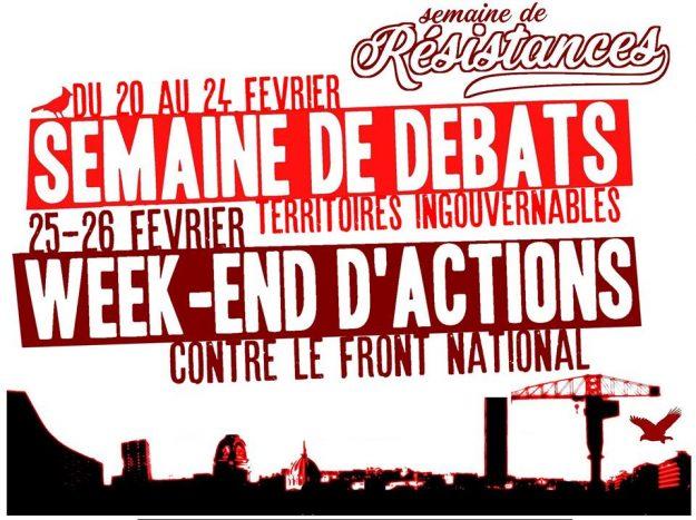 Nantes : semaine de résistances et WE d'actions contre le FN @ Nantes | Pays de la Loire | France