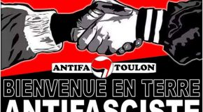 Toulon : bienvenue à l'action antifasciste !