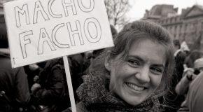 Photos de la manif féministe du 8 mars à Paris