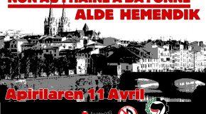 Pays Basque Nord : Communiqué de presse Ipeh sur le 11 avril (Fr/Eus)