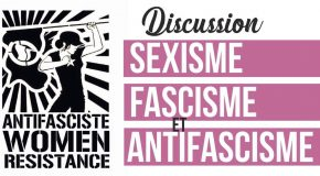 "Paris : discussion autour de ""Sexisme, fascisme et antifascisme"""