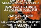 Lille : Week-end de mobilisation le 25/26 mars