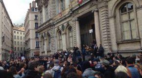 Lyon : première manif de l'entre-deux tours réussie