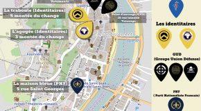 Lyon : cartographie de l'extrême droite