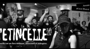 Angers : soutien à l'Étincelle, lieu militant associatif et autogéré
