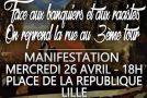 Lille : Ni patron, ni patrie. Ni Macron, ni Le Pen.