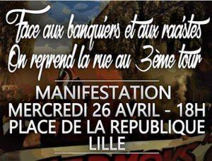 Lille : Ni patron, ni patrie. Ni Macron, ni Le Pen. @ Lille | Hauts-de-France | France