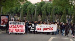 Nantes contre Macron et Le Pen : manif OKLM