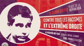 Paris : programme de la journée en hommage à Clément Méric