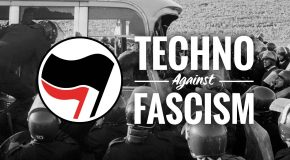 Angers : Techno against fascism