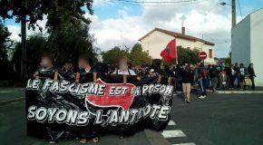 Bordeaux : mobilisation contre le Menhir, quand les flics protègent les fascistes