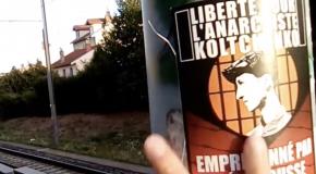 Russie : Vidéo de soutien à l'anarchiste et antifasciste emprisonné Aleksandr Kolchenko