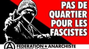 Chambéry : attaque fasciste contre un concert libertaire